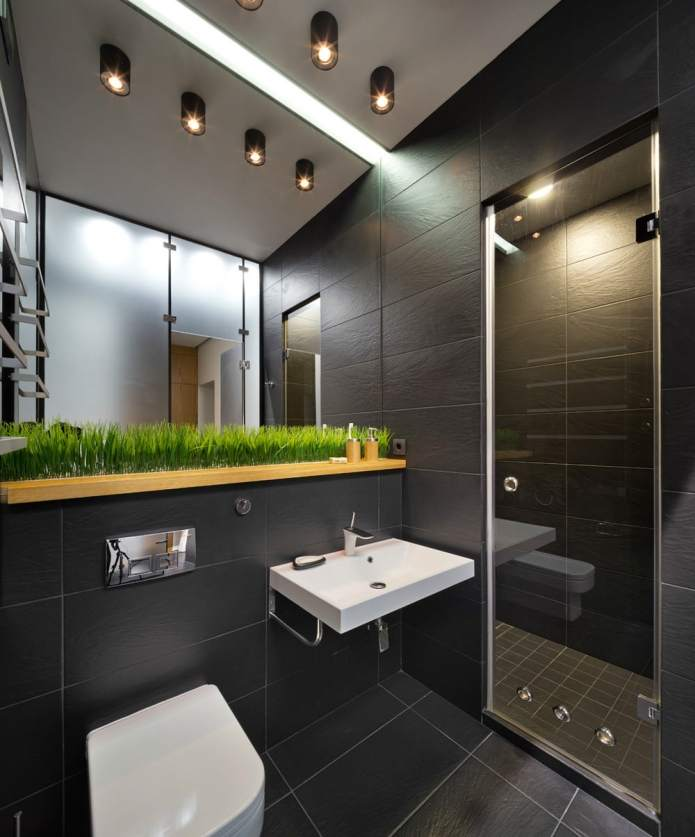 Интерьер квартиры 40 кв.м. в стиле лофт (10)