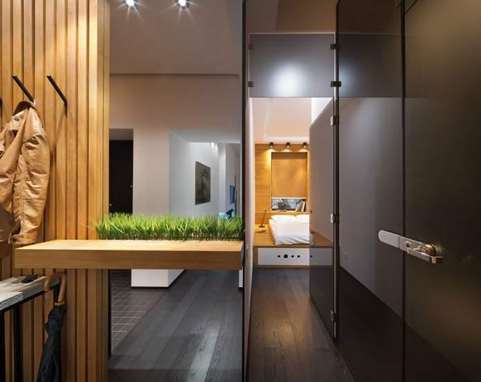 Интерьер квартиры 40 кв.м. в стиле лофт (12)