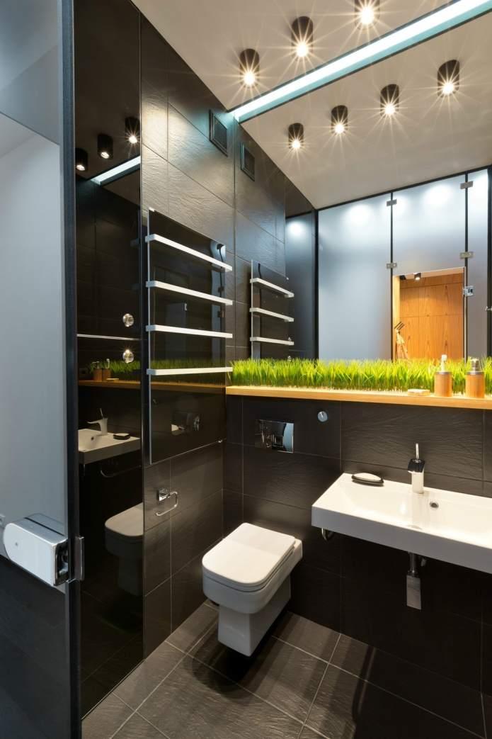 Интерьер квартиры 40 кв.м. в стиле лофт (2)