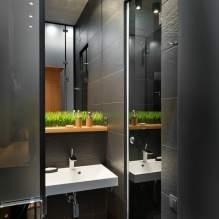 Интерьер квартиры 40 кв.м. в стиле лофт (3)