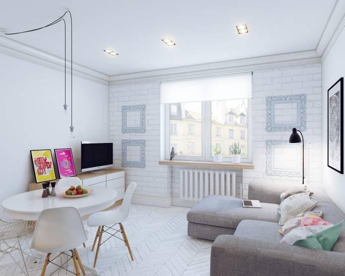 Интерьер маленькой квартиры-студии 24 кв. м. в скандинавском стиле (15)