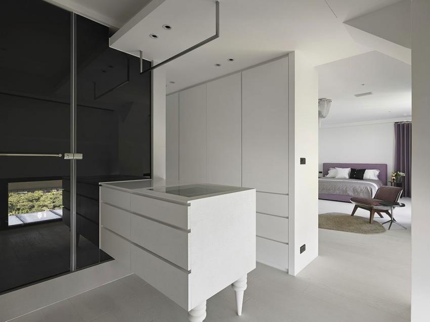 Интерьер современной квартиры приправленный красками (12)