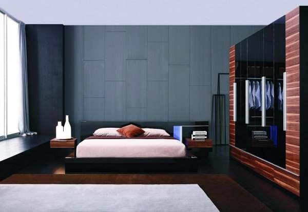 Интерьер современной спальни фото10
