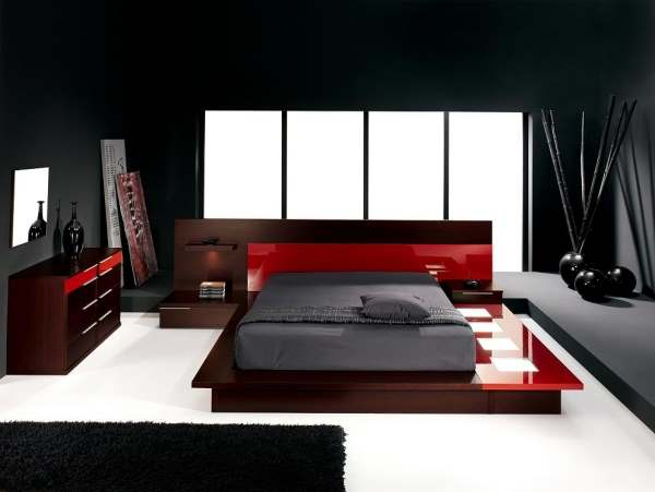 Интерьер современной спальни фото11