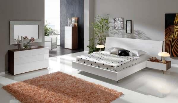 Интерьер современной спальни фото12