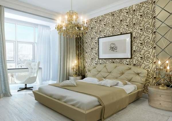 Интерьер современной спальни фото2