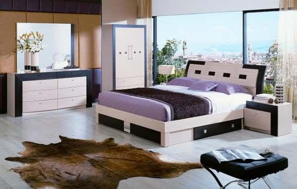 Интерьер современной спальни фото3