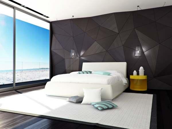 Интерьер современной спальни фото4