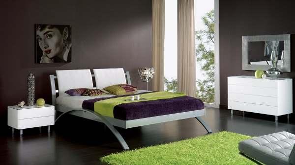 Интерьер современной спальни фото5