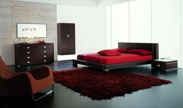 Интерьер современной спальни фото6