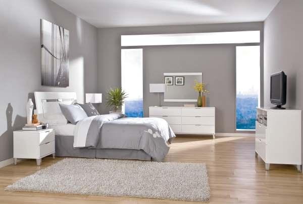 Интерьер современной спальни фото7