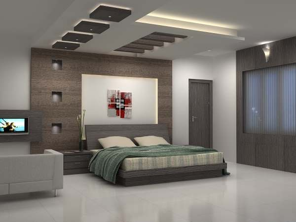 Интерьер современной спальни фото9