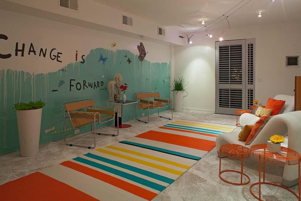 Интерьер трехэтажного загородного дома во Флориде7