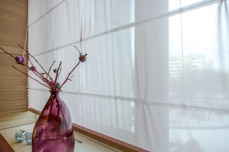 Обустройство гостиной 19 кв.м. в бежевом цвете (40)