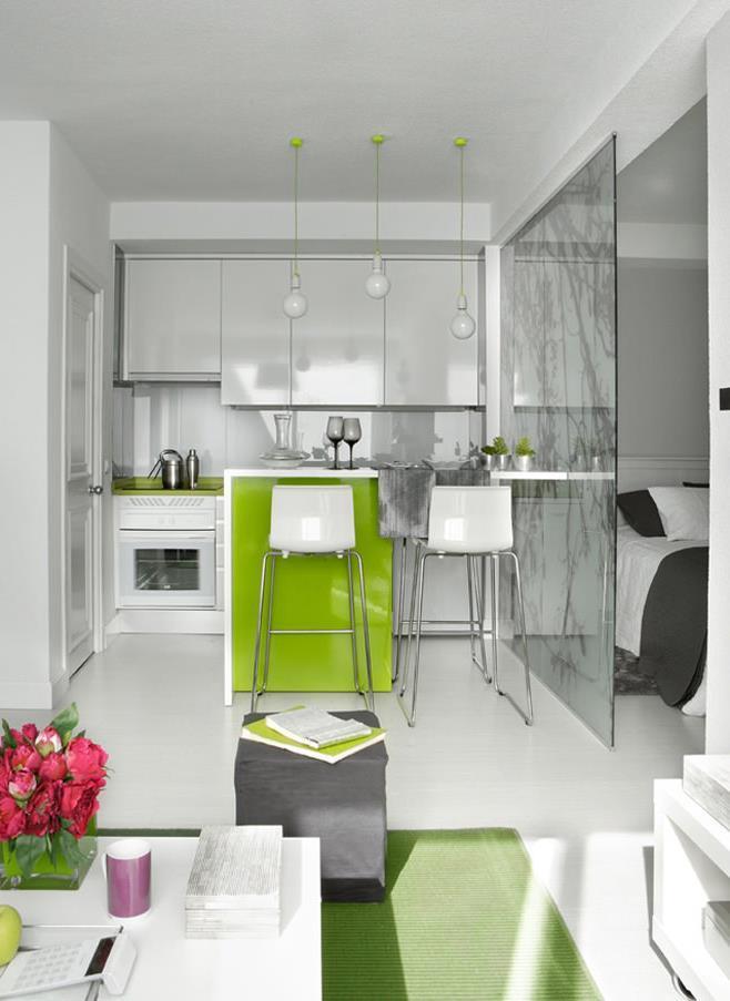 Перепланировка квартиры студии 40 кв.м (5)
