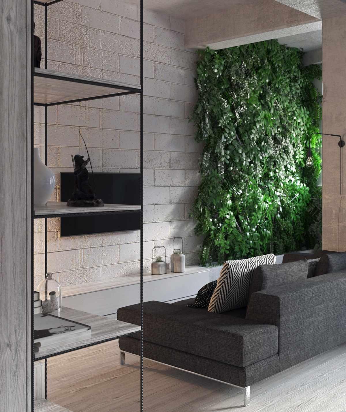 Планировка современной квартиры 43 кв.м (2)