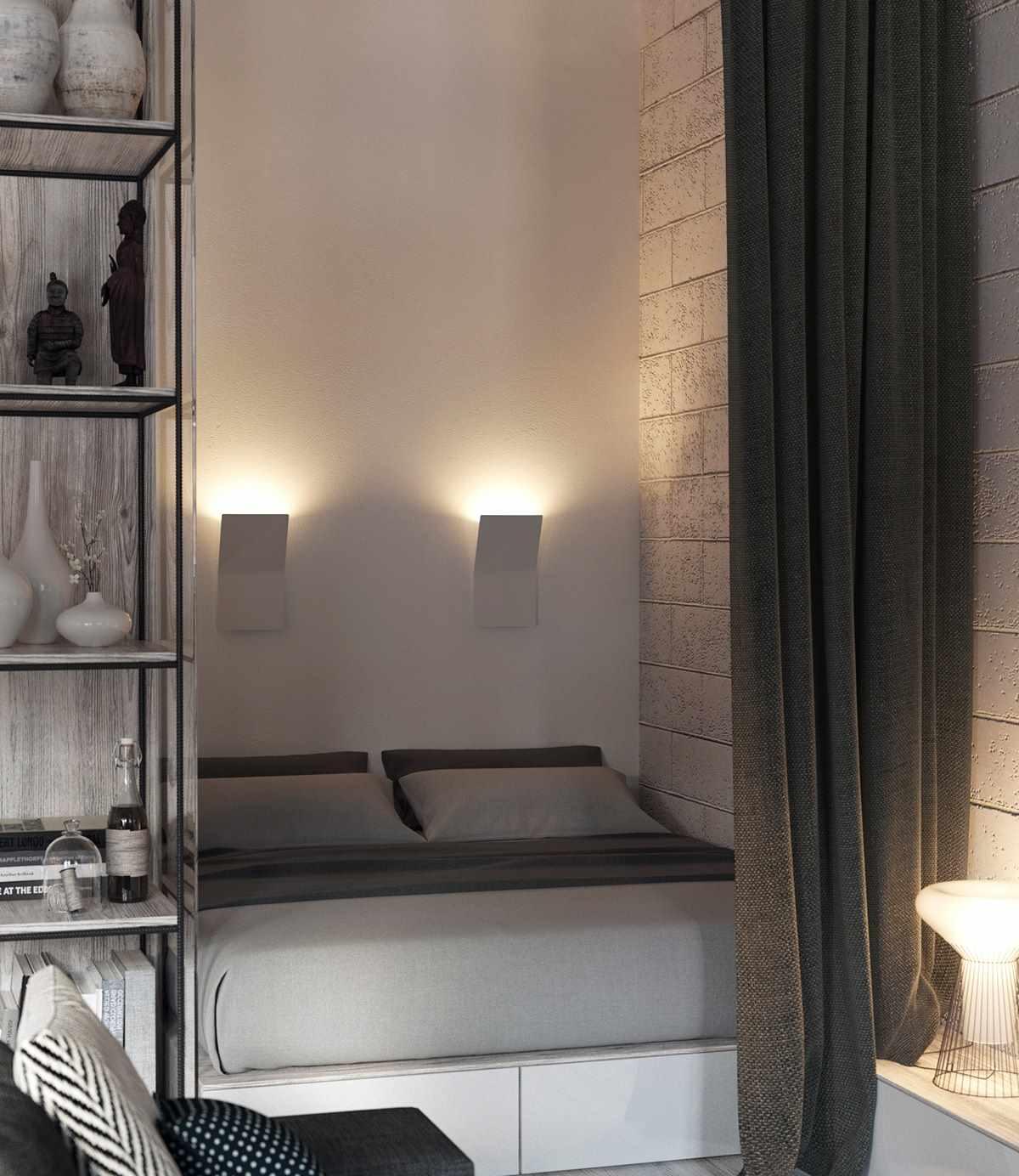 Планировка современной квартиры 43 кв.м (4)