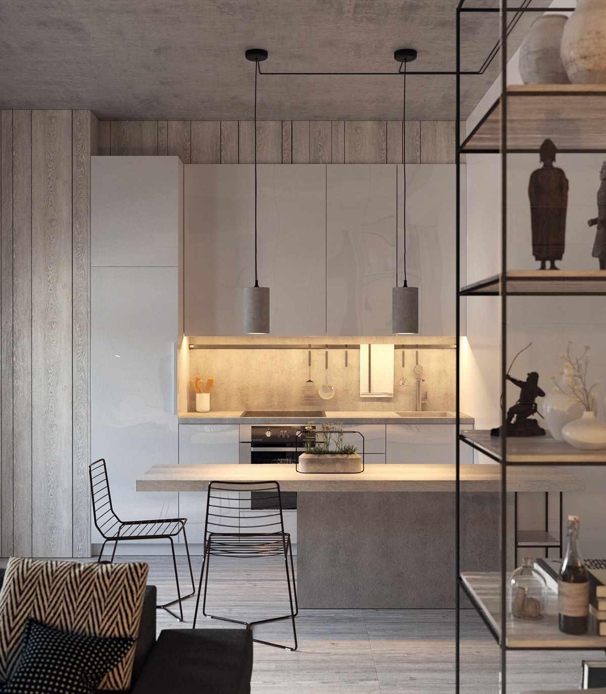 Планировка современной квартиры 43 кв.м (7)