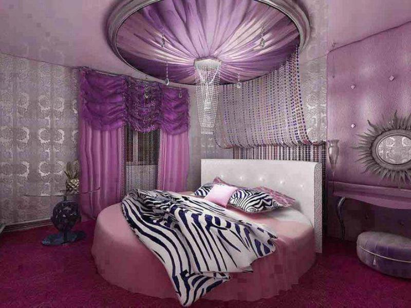 Потрясающий дизайн спальни с круглой кроватью (17)
