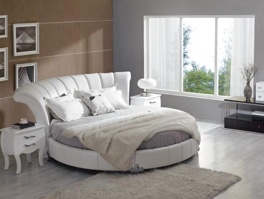 Потрясающий дизайн спальни с круглой кроватью (20)