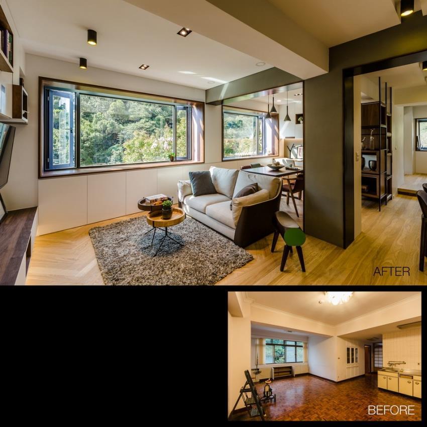 Потрясающий современный дизайн квартиры (14)