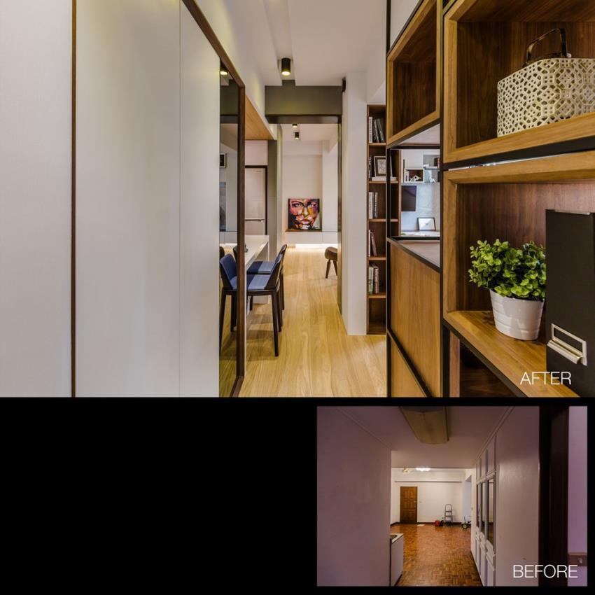 Потрясающий современный дизайн квартиры (15)