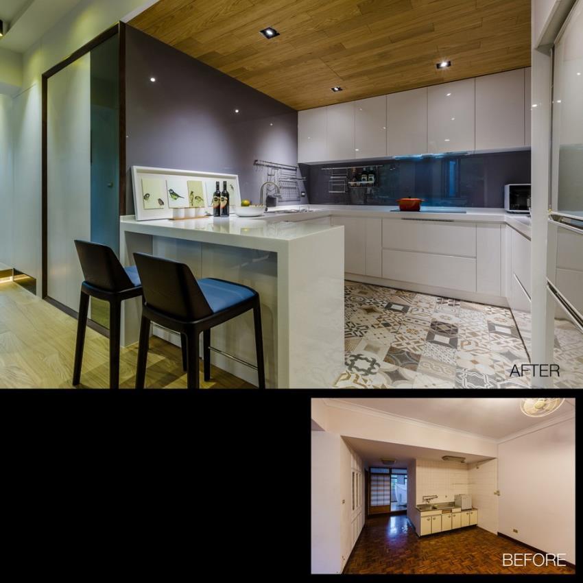Потрясающий современный дизайн квартиры (17)