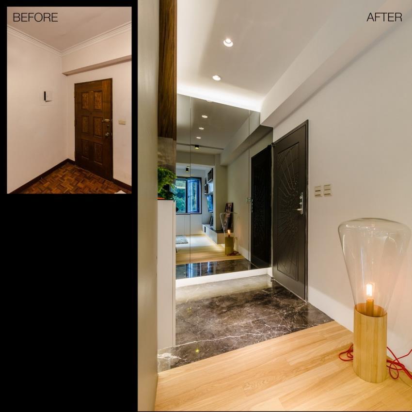 Потрясающий современный дизайн квартиры (22)