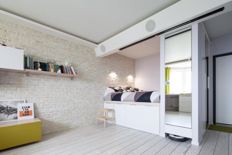 Современная квартира площадью 42 кв.м. в минималистичном стиле (13)