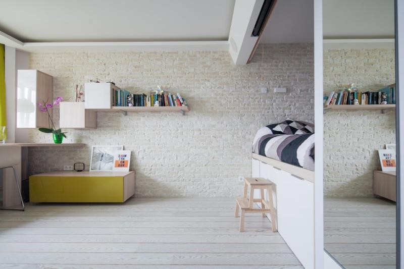 Современная квартира площадью 42 кв.м. в минималистичном стиле (9)