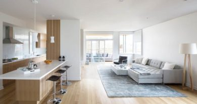Современный интерьер энергосберегающего дома