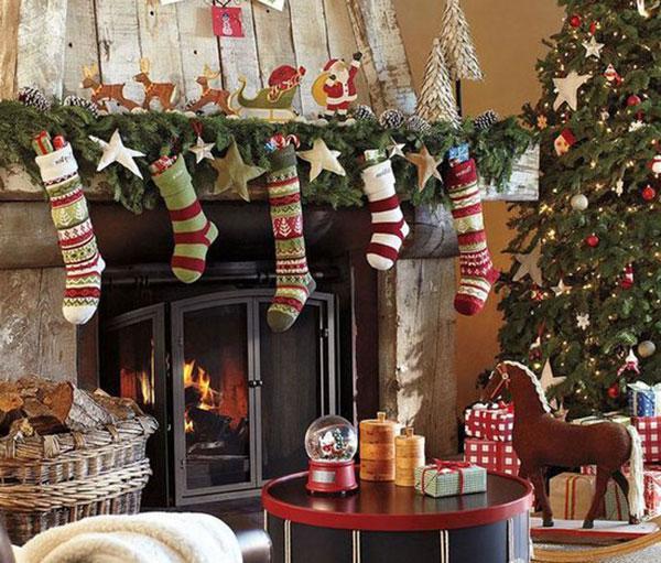 Украшение-дома-на-новый-год-декор