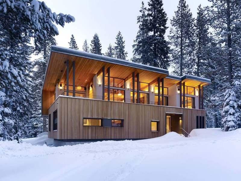 дизайн и интерьер современного загородного дома