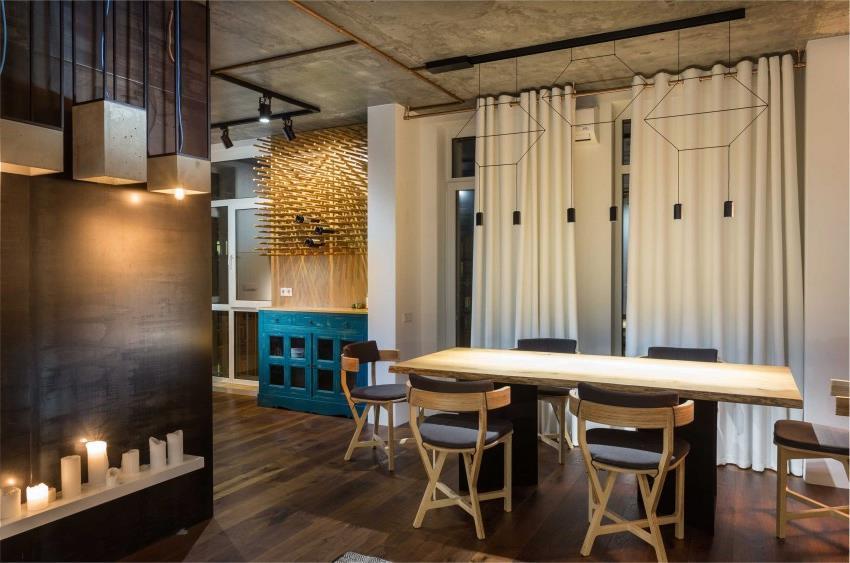 дизайн стильной двухкомнатной квартиры (14)