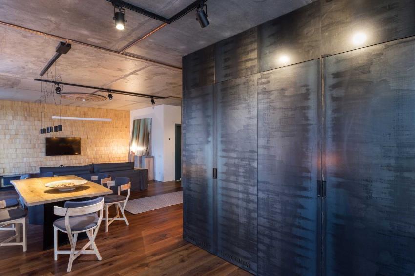 дизайн стильной двухкомнатной квартиры (17)