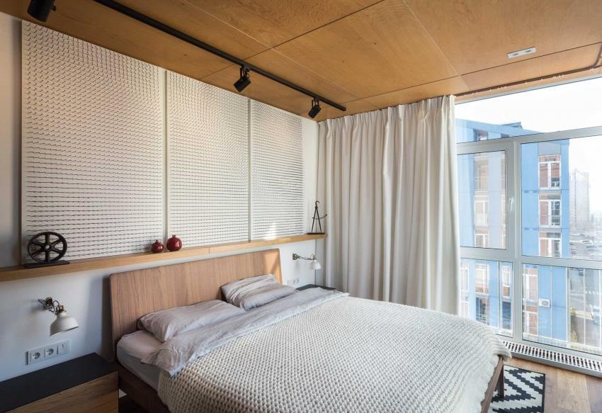 дизайн стильной двухкомнатной квартиры (4)