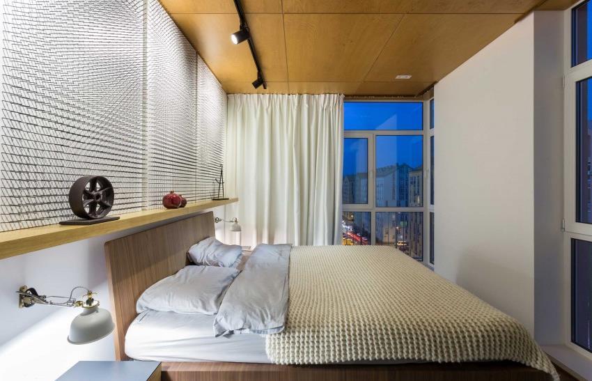 дизайн стильной двухкомнатной квартиры (7)