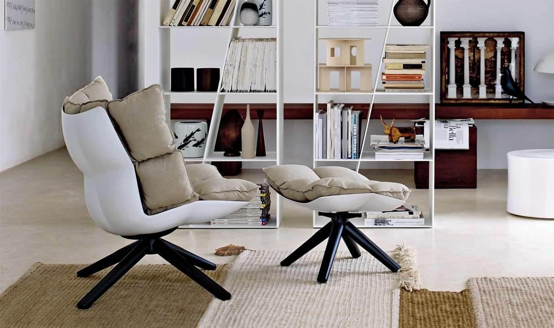 дизайнерское кресло Husk от B&B6