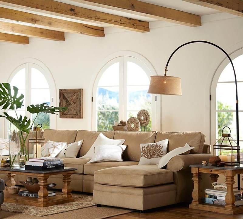 гостиная комната в скандинавском стиле (12)