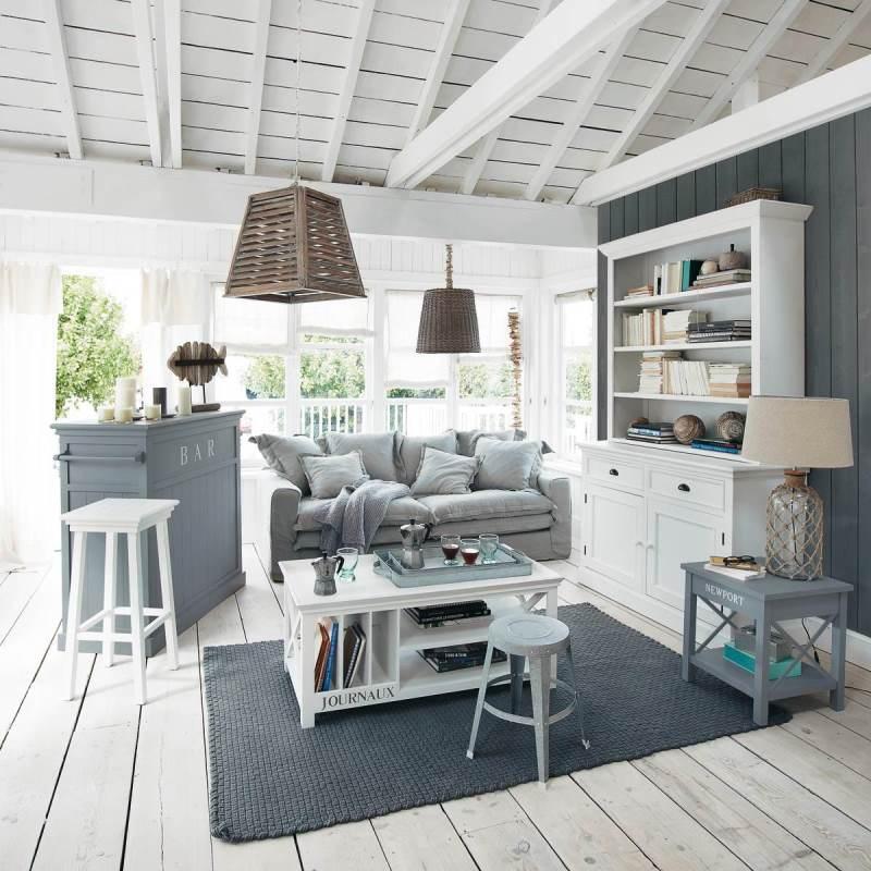 гостиная комната в скандинавском стиле (15)