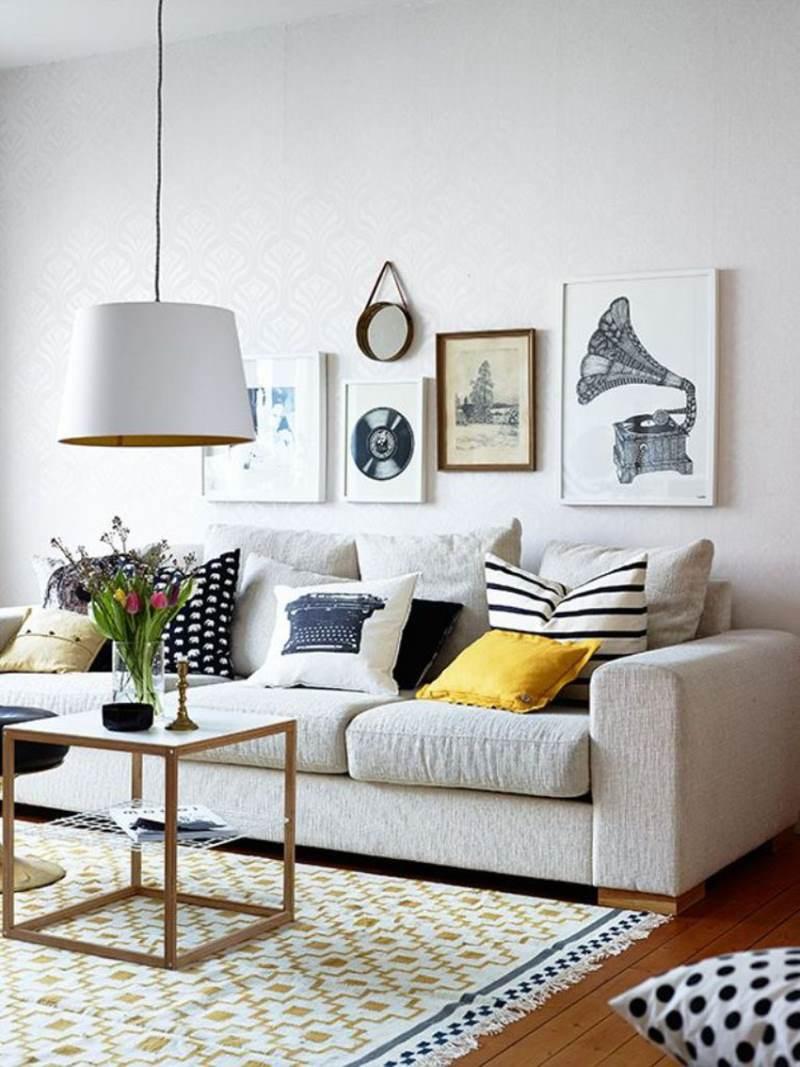 гостиная комната в скандинавском стиле (2)