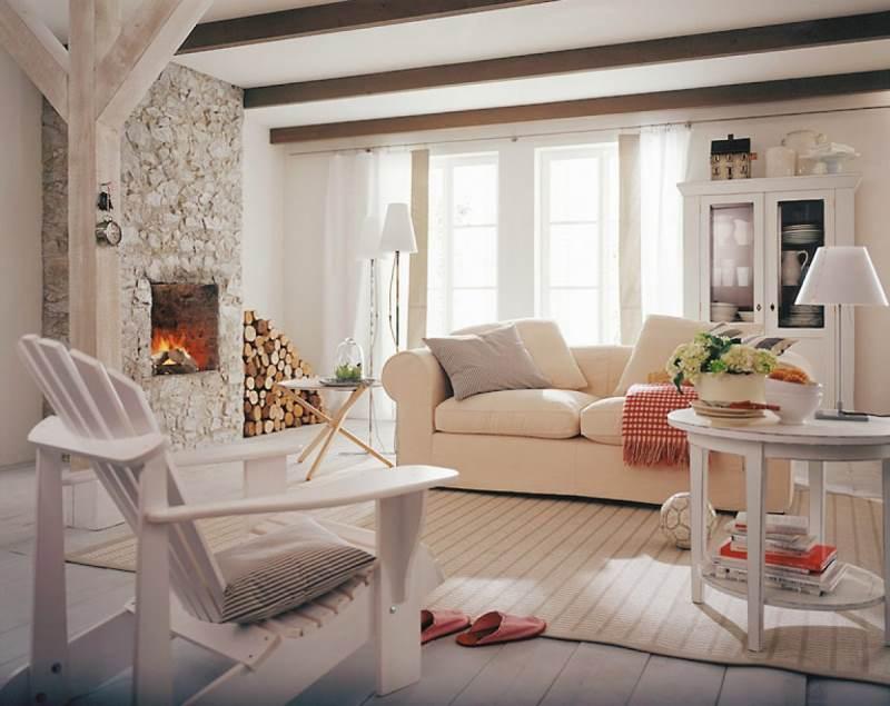 гостиная комната в скандинавском стиле (4)