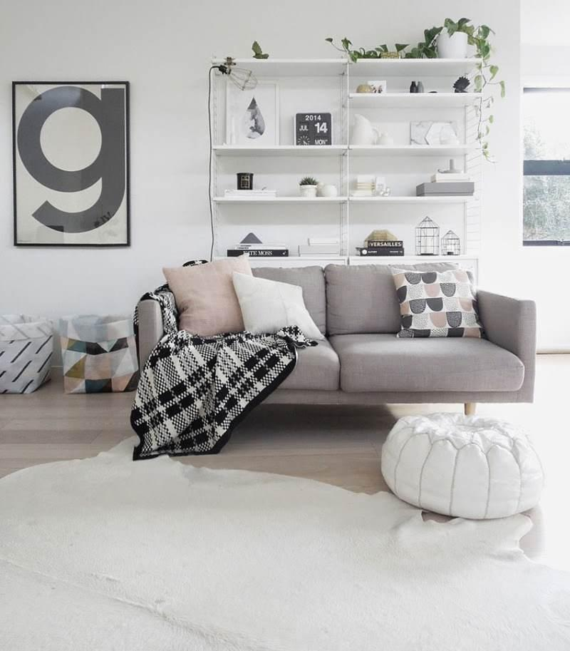 гостиная комната в скандинавском стиле (7)