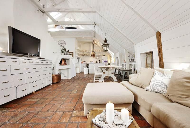 гостиная комната в скандинавском стиле (9)