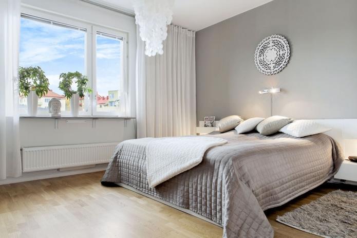 интерьер спальни в серой гамме (12)