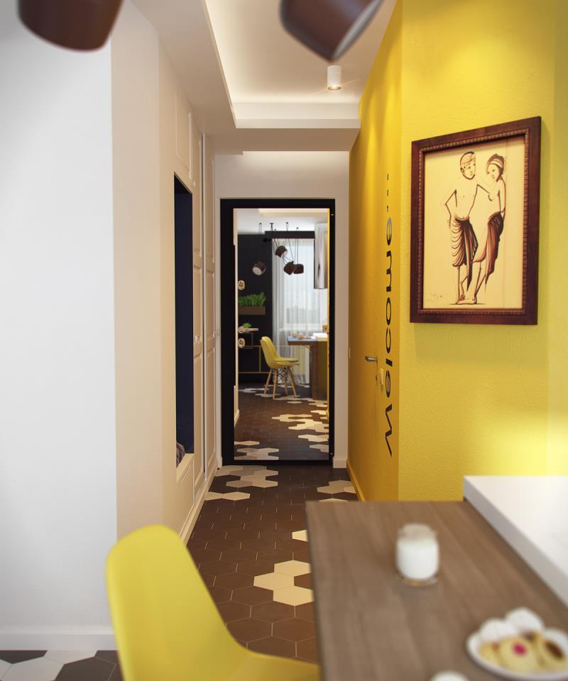 квартира площадью 37,5 кв.м (16)