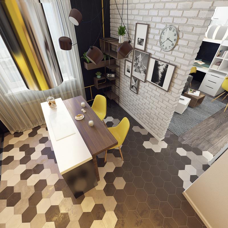 квартира площадью 37,5 кв.м (18)