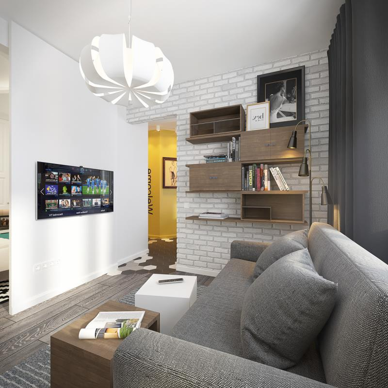 квартира площадью 37,5 кв.м (3)