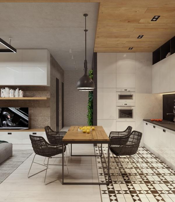 отделка из бетона в современном интерьере (13)