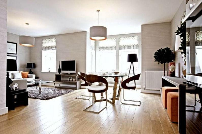 планировка интерьера однокомнатной квартиры3